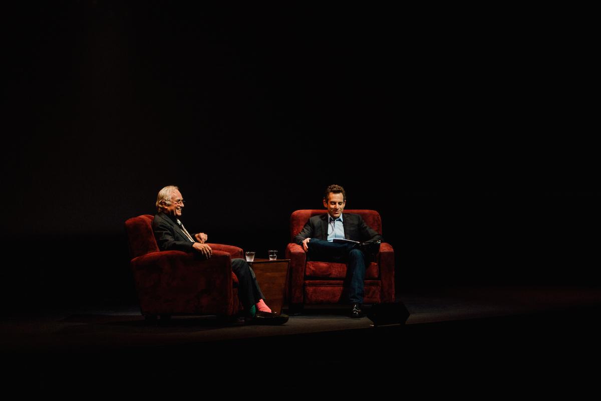 Making Sense Podcast #57 — An Evening with Richard Dawkins and Sam Harris (1)   Sam Harris